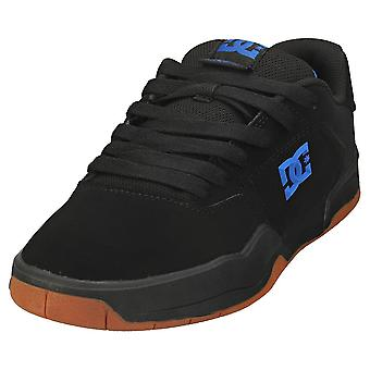 DC Shoes Central Mens Skate Trainers in Black Blue
