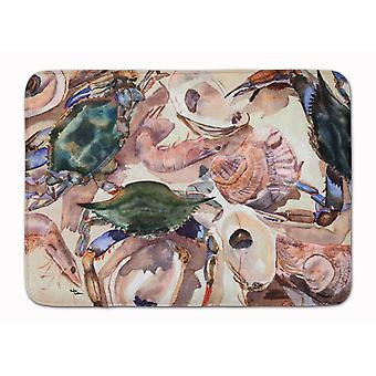 Tappetino caroline's treasures crab, 19 X 27, Multicolor - 8618Rug