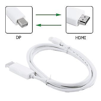 Mini Displayport Dp naar Hdmi-kabeladapter voor Macbook Pro Air 6ft 1.8m