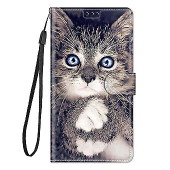 Abdeckung Oppo A52/a72/a92 Fall Flip Pattern Magnetic - Katze