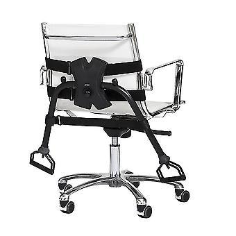 Kannettava kuntosali tuoleille - Musta