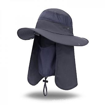 Outdoor Sun Hat, Sun Protection, Fishing Climbing Hat(Color2)