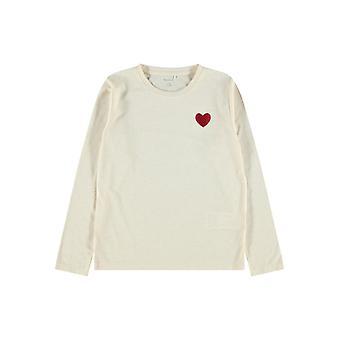 Name-it Meisjes Tshirt Oharta Whitecap Gray