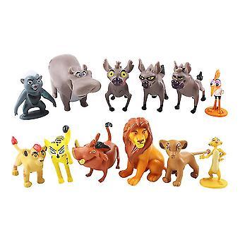 12pcs אריה המלך סימבה טימון פומבה דמות צעצוע
