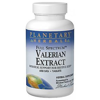 Valerian Extract 650mg 60 Tablets
