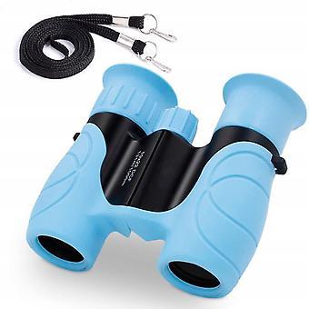 Children's Binoculars Telescope Outdoor Telescope Outdoor Toy Children, 10x22 Blue