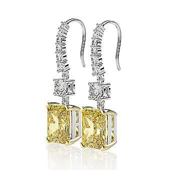 Zircon Women Silver Earring