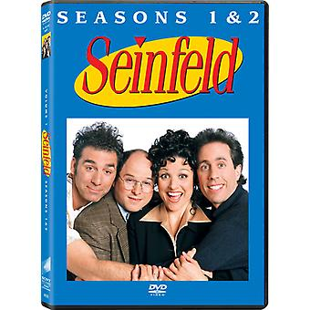 Seinfeld: The Complete First and Second Seasons [4 Discs] [DVD] USA import