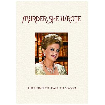 Murder She Wrote: Saison zwölf [DVD] USA import