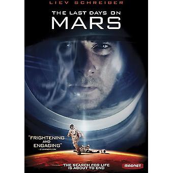Last Days on Mars [DVD] USA import