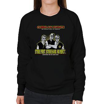 The Leg Sweepers Karate Kid Women's Sweatshirt
