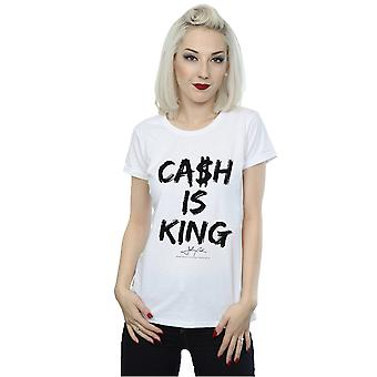 Johnny Cash Women's Cash Is King T-Shirt