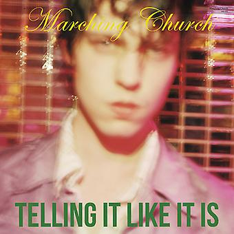 Marching Church - Telling It Like It Is [CD] USA import