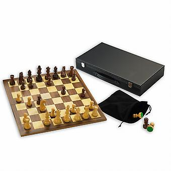 Gibsons trä Chess Set med 3,5-tums King