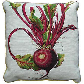 Beetroot Needlepoint Canvas