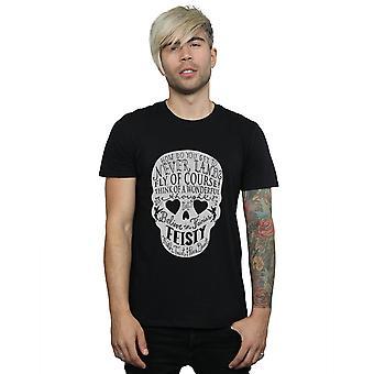 Disney mannen Tinker Bell Skull T-Shirt