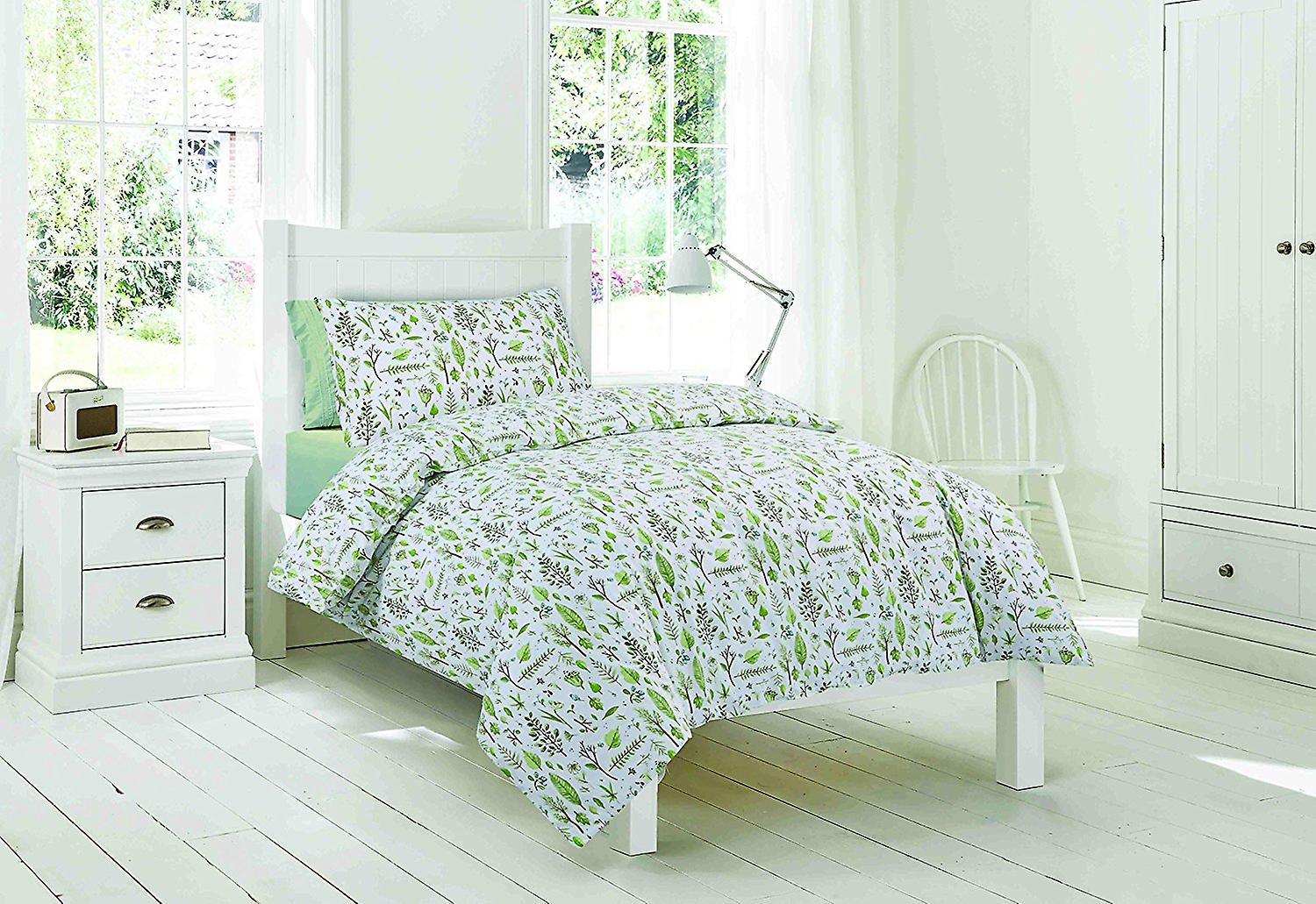 Easy-Fit couette lilas fleuri