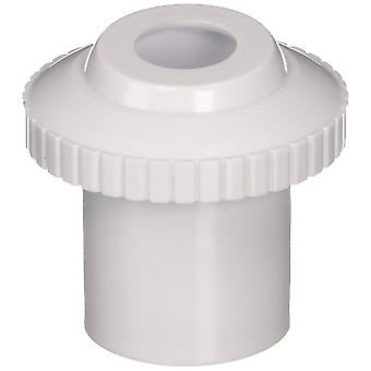 "Pentair 540049 1.5"" Slip Inlet x 1"" Opening Directional Insider Eyeball - White"