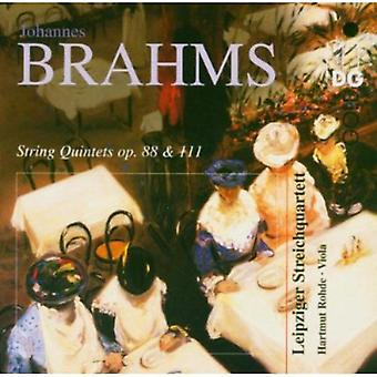 J. Brahms - Brahms: String Quintets [CD] USA import