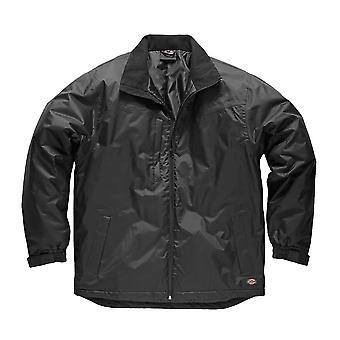 Mens de DICKIES Workwear Fulton contrat veste JW7006B noir