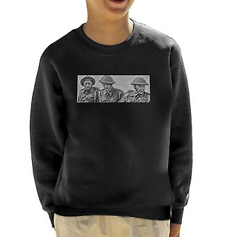 Vaders leger Corporal Jones Pike privé Walker Vintage instellen foto Kid's Sweatshirt