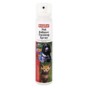 Beaphar Pet Behave Training Spray 125ml for Cats Dogs  - Protect Your Furniture