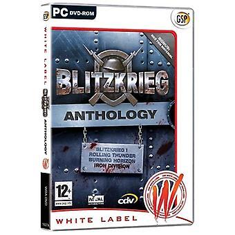 Blitzkrieg antologi Blitzkrieg 1Burning HorizonRolling ThunderIron division (PC DVD)-ny