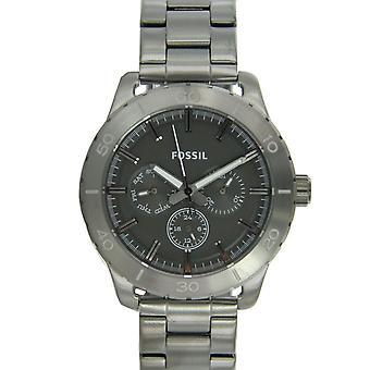 Fossil Herren Uhr Armbanduhr Edelstahl BQ1057