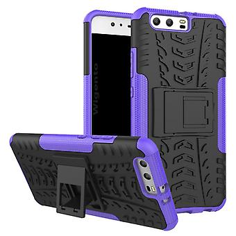 NEX style hybrid case 2 piece outdoor purple for Huawei P10 plus bag case cover protection