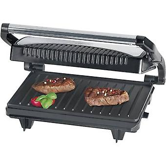 Clatronic MG 3519 Table Grill press Black, Stainless steel
