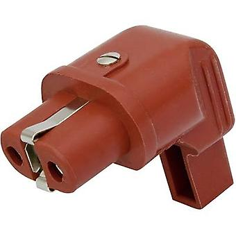 Kalthoff 344Si/Wi Hot wire connector 344 Series (mains connectors) 344 Socket, right angle Total number of pins: 2 + PE 16 A Red 1 pc(s)
