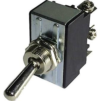 SCI R13-28A-06 Toggle switch 250 V AC 10 A 1 x Off/On latch 1 pc(s)