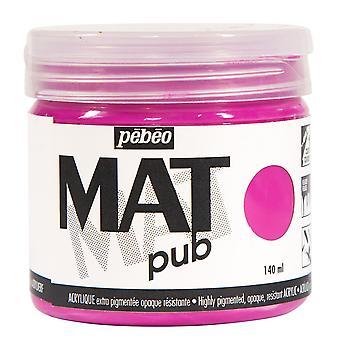 Tinta acrílica do Pub Pebeo Mat 140ml