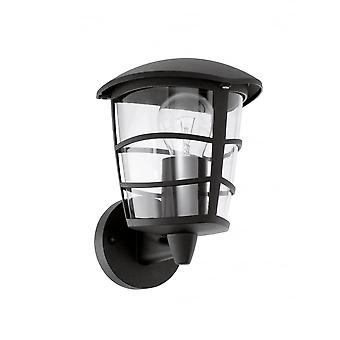 Eglo Aloria Black Contemporary Outdoor Porch Lantern