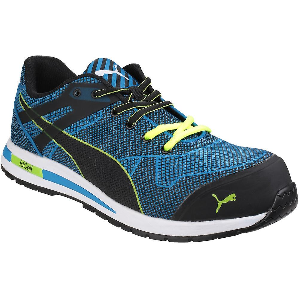 Puma Safety Footwear Mens Blaze Knit Low Lace up Metal Free S1 Safety Shoes