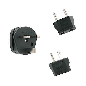 PCD World Charger / International Travel Charger Adapter Kit - Europe, UK, Australia PAK-8990