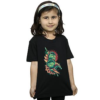 DC Comics tytöt Vesimies Xebel Crest t-paita