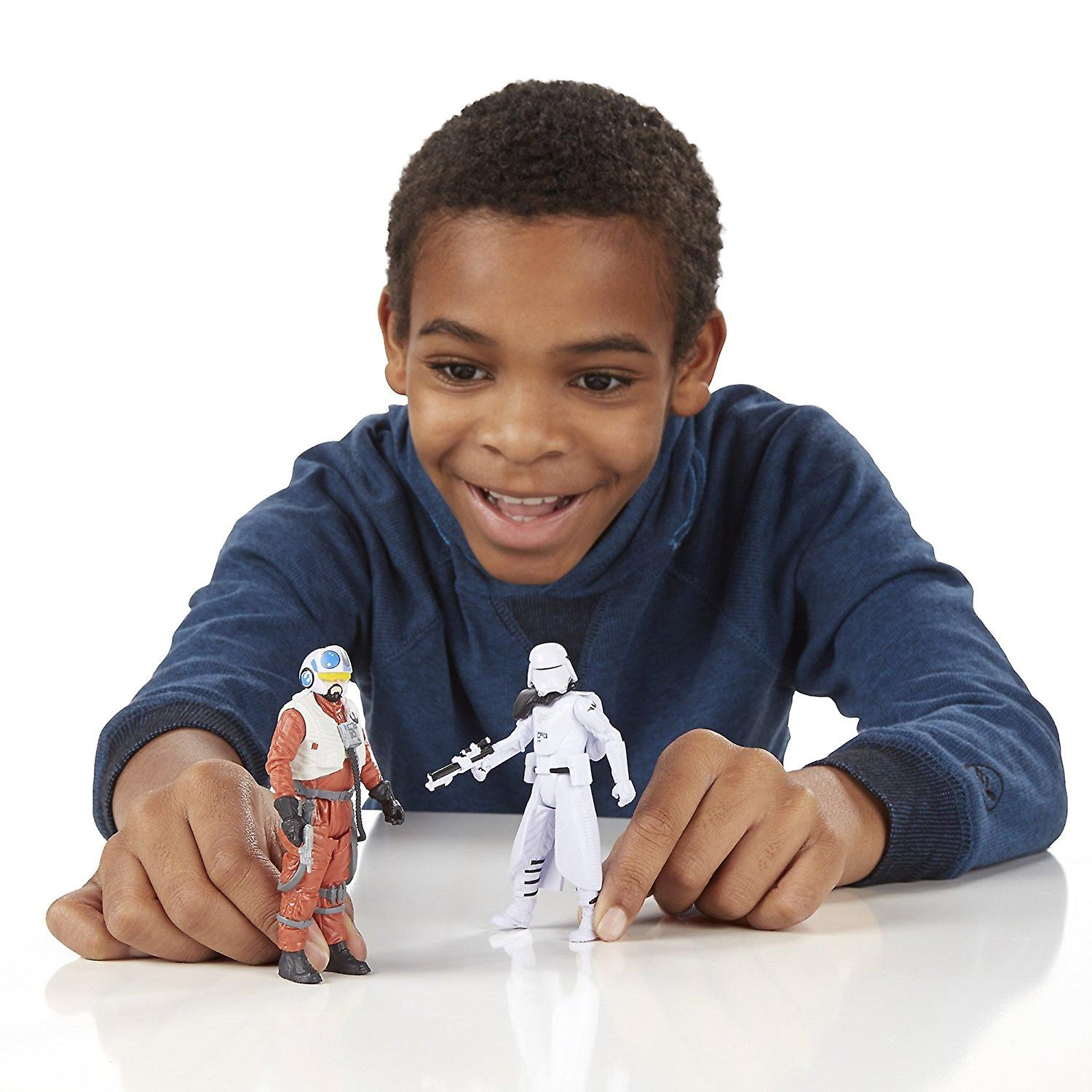 The Force Awakens 3.75 Inch 2 Pack Snap Wexley and First Order Snowtr Star Wars