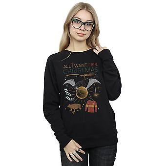 Harry Potter kobiet All I Want For Christmas Bluza