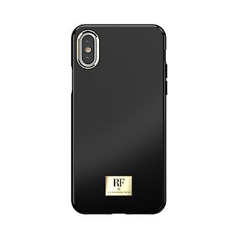 RF by Richmond & Finch shell voor IPhone XS Max-Black accepteert