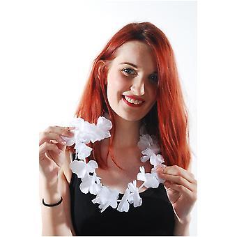 Hawai i tropikalnych hawajski biały kwiat garland