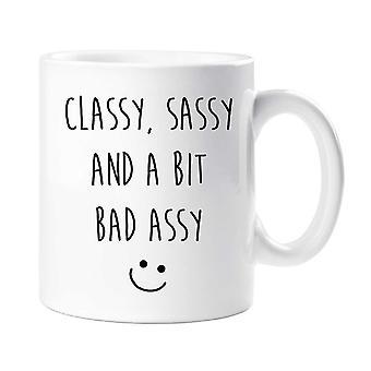 Sassy kubek Classy Sassy i Bit Bad Assy