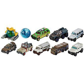 Mattel Match Box FMW90 Jurassic World Die Cast - jeden tylko