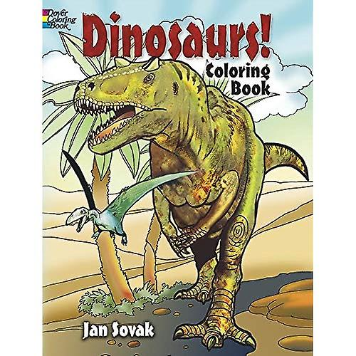 Dinosaurs! Coloring Book (Dover Coloring Book)
