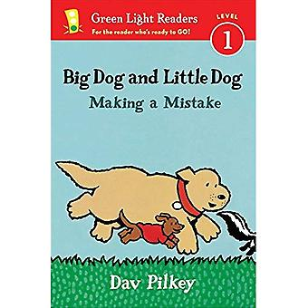 Stor hund och liten hund gör ett misstag (läsare) (grönt ljus läsare - nivå 1 (kvalitet))