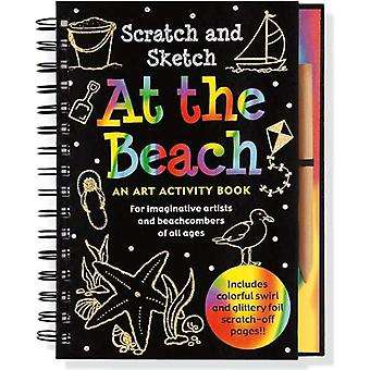 Scratch & Sketch At The Beach: An Art Activity Book For Beach Lovers Of All Ages (Trace-Along Scratch and Sketch)