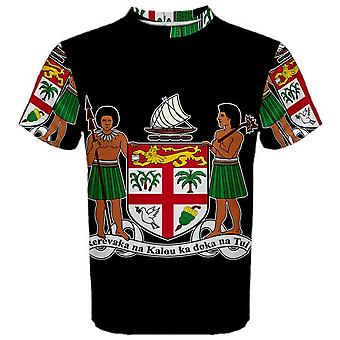Fiji Coat of Arms Sublimated Sports Jersey