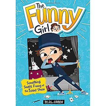 Noe lukter morsom på Talent Show: en 4D bok (morsom jente)