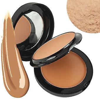 Technic Colour Fix 2 In 1 Pressed Powder & Cream Foundation ~ Ecru