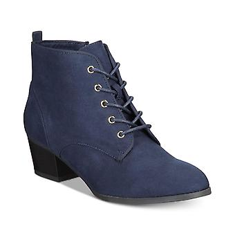 Charter Club Womens Carlee Fabric Almond Toe Ankle Fashion Boots